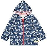 loud + proud Unisex Baby Jacke Wasserabweisende Outdoorjacke, aus Bio Baumwolle, Gots Zertiziziert, Blau (Ultramarin Ul), 80 (Herstellergröße: 74/80)