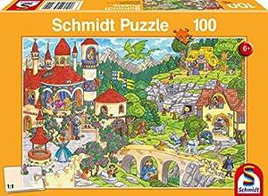 Schmidt Spiele 56311 - Puzzle Infantil (100 Piezas), diseño de Cuento de Hadas
