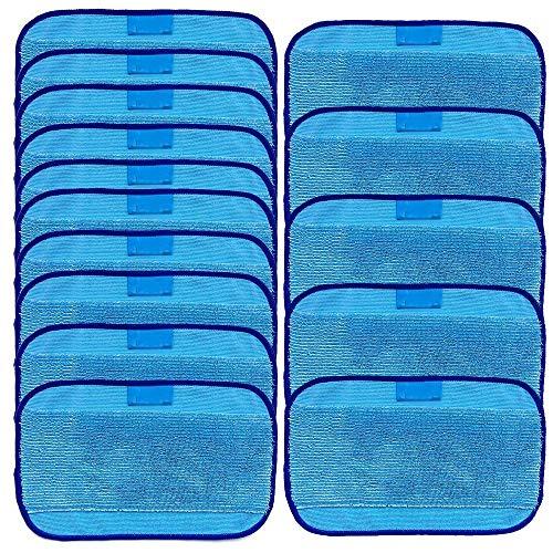 FiYenn Nasswisch-Mikrofasertücher,Wischen Tücher 15 nass für iRobot Braava 380 380t 320 Minze 4200 4205