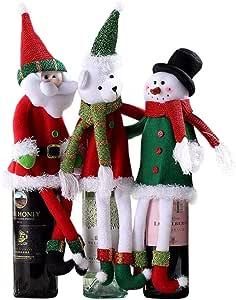 Set di 2 fustelle a forma di Babbo Natale con slitta
