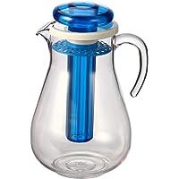 bremermann Carafe Isotherme et aromatique avec Tige de Refroidissement et passoire 2,8 l (Bleu)