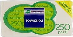 Pam Panorama Tovaglioli, 33 x 33cm, 1 Velo, 250 Pezzi