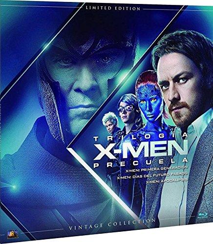 x-men-trilogia-precuela-coleccion-vintage-funda-vinilo-blu-ray