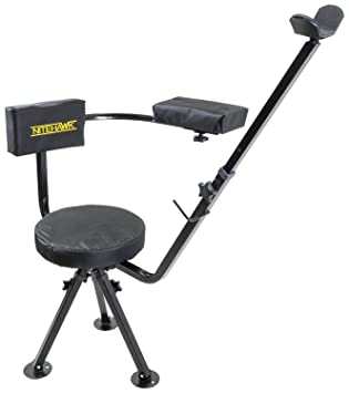 Nitehawk 360 Swivel Deluxe Shooting Hunting Chair Padded Gun/Rifle Rest  sc 1 st  Amazon UK & Nitehawk 360 Swivel Deluxe Shooting Hunting Chair Padded Gun/Rifle ... islam-shia.org