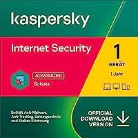 Kaspersky Internet Security 2021   1 Gerät   1 Jahr   Windows/Mac/Android   Aktivierungscode per Email