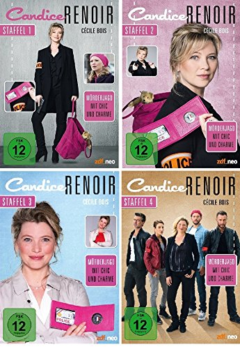 Candice Renoir - Staffel 1+2+3+4 im Set - Deutsche Originalware [13 DVDs]