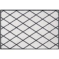 Zala Living Scale Felpudo, Poliamida, Negro, 70x 50x 0,7cm