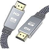 4K HDMI-kabel 3 m, HDMI 2.0-kabel snöbarn platt Ultra hdmi till hdmi hög hastighet 18 Gbps 4 K @ 60 Hz, UHD 2160p, HD 1080p,