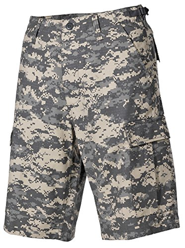 US Army BDU Cargo Bermuda Rip Stop AT-digital S-XXL L,At-Digital Us Army Bdu