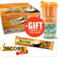 JACOBS 3in1 INSTANT COFFEE 100 STICKS SINGLE SERVINGS FRESH STOCK WHOLESALE UK from JACOBS