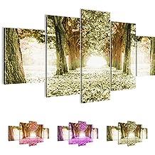 Cuadros de 200 x 100 cm - Cuadro de Bosque Callejón - Cuadro en lienzo no tejido - Imagen artística en lienzo para la pared - Impresión de arte – Imagen para la pared – Formato XXL –Más colores y tamaños en la tienda – ¡¡¡Totalmente estirados!!! ¡¡¡100 % FABRICADOS EN ALEMANIA!!! - Bosque Callejón 605651c