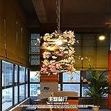 Ehime Die modernen, kreativen Floristen dekorative Beleuchtung Restaurant Bar internet cafes Spirale kunst Hängepflanzen Pflanzen.