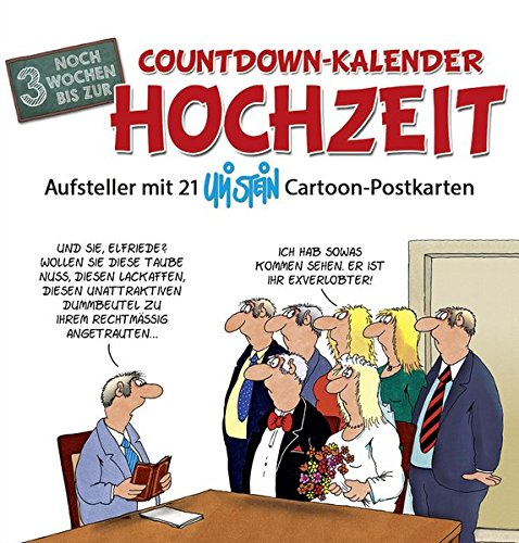 Countdown-Kalender Hochzeit
