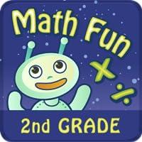 Math Fun 2nd Grade: Multiplication & Division HD