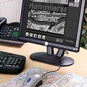 bierley monomouse-usb-md: Loupe électronique pour XP, Vista et Win 7ordinateurs