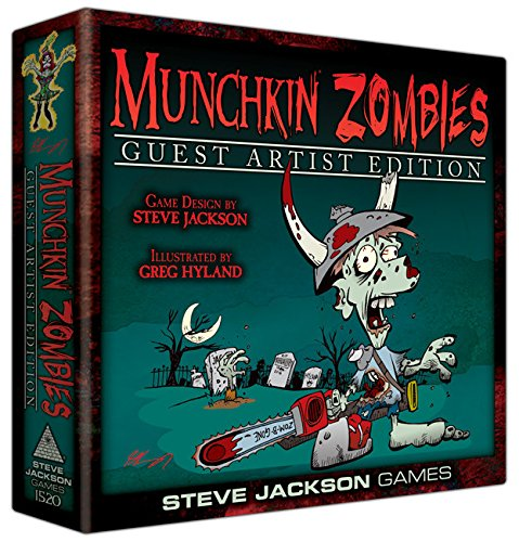 Steve Jackson Games sjg01520 – Gioco di carte Munchkin Zombies Guest Artist Edition