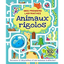 Mes premiers labyrinthes - Animaux rigolos