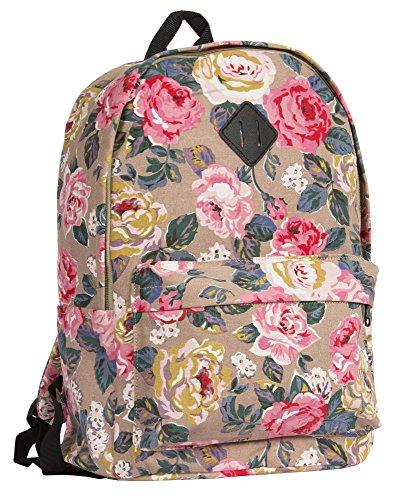 Big Handbag Shop ,  Schulrucksack Rose - Pink
