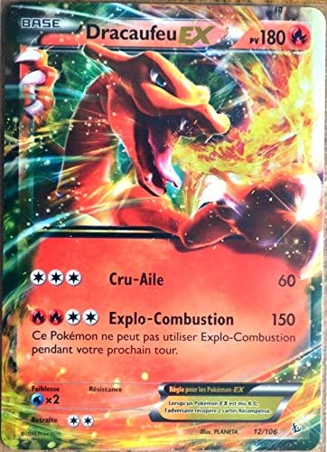 carte Pokémon 12/106 Dracaufeu Ex 180 PV Série Série Série Xy Étincelles NEUF FR | L'exportation  6d1b23