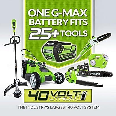 Greenworks Tools 40V Akku-Rasenmäher mit Metall-Deck