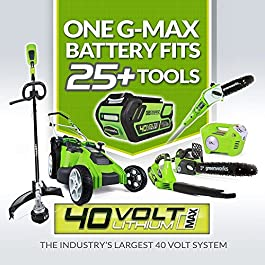 Greenworks Coupe-bordure sans fil 30cm 40V Lithium-ion
