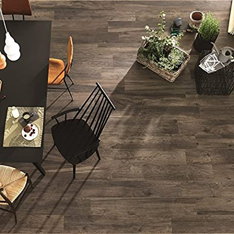 Italian Porcelain Wood Effect Tobacco Colour Wall & Floor Tiles 20Cm x 120Cm Rectified (Sample)