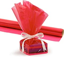 Gift Wrap Roll 2 PC 20-Inch by 5-Feet, /Red Envelope Making,Card Making, Scrapbooking and Multipurpose Creative Uses for BIRTHDAY, ANNIVERSARY, WEDDING, CHRISTMAS, FRIENDSHIP DAY, VALENTINE DAY, MOTHER'S DAY, RAKSHABANDHAN, SISTER AND YOUR LOVED ONES
