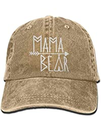 Jxrodekz Mama Bear Denim Hat Adjustable Women Dad Baseball Hat EE361 045c5a454a0