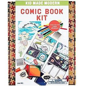 Kid Made Modern K006 - Kit de cómics para Manualidades Infantiles, Multicolor