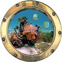 Pegatina adhesiva de coral 30 x 30 cm 1424: