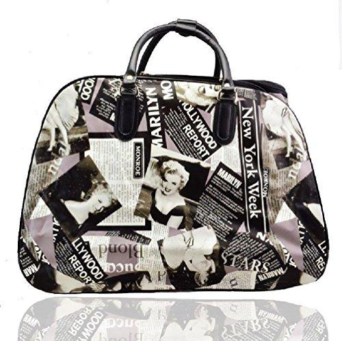 marilyn-monroe-wheeled-bag-holdall-cabin-bag-hand-luggage-trolley-travel-bag