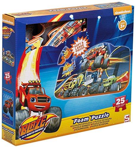 Riesen-Bodenpuzzle Blaze und die Monstermaschinen 25 Teile Nickelodeon