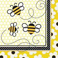 Tovaglioli Busy Bee con le api che