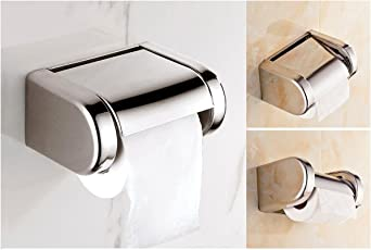 AAI EXCLUSIVE SS 304 TOILET PAPER HOLDER WITH EASY REFILL FEATURE