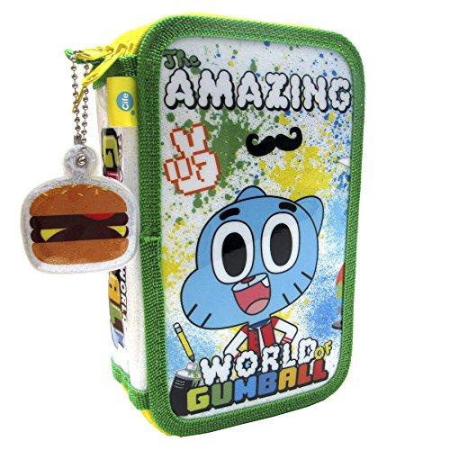 Gumball - Astuccio a 3 livelli con glitter (CIFE 40477)