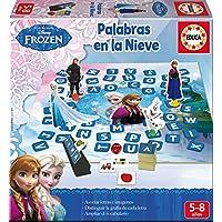 Educa Borrás Aprendo A…Formar Palabras en la Nieve, juego educativo (16378)