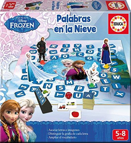 Educa Borrás - Aprendo A...Formar Palabras en la Nieve, juego educativo