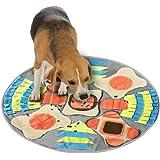 Sammiu Snuffle Mat para Perros, Alfombra de Actividades para Mascotas, Alfombra Olfato Perro Mascotas Perros tapete de Entren