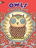 Owls Coloring Book (Dover Coloring Books)