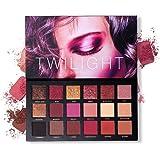 UCANBE Professional 18 Pigmented Eyeshadow Makeup Palette, 10 Matte + 7 Shimmer + 1 Metallic Glitter, Velvet Texture Blendabl
