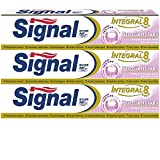Signal Dentifrice Integral 8 Protection Gencives 75ml - Lot de 3