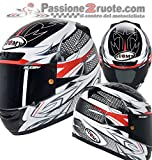 Suomy KSAP0019.5 Casco Moto, Multicolore, L
