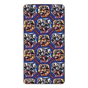 Marvel Civil War PBMARMIUNITE3020 Art Back Cover for Micromax Unite 3 (Multicolor)
