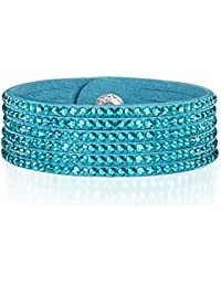 Rafaela Donata - Bracelet fashion cristal de verre - En différentes longueurs, bracelet cristal de verre - 60917074