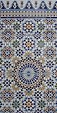 3X Keramikfliesen Azrou 713 B-Ware - Fliesenbild 75x40x0,7cm- Mosaikfliesen Wand