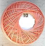 Häkelgarn Stärke 10 Baumwolle-Filet-Garn häkeln - Farbe rosa_106