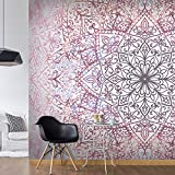 murando - Fototapete 200x140 cm - Vlies Tapete - Moderne Wanddeko - Design Tapete - Wandtapete - Wand Dekoration - Abstrakt Mandala Orient f-C-0131-a-d
