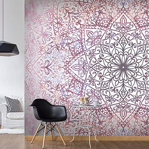 Preisvergleich Produktbild Vlies Fototapete 350x245 cm - 3 Farben zur Auswahl - Top Tapete Wandbilder XXL Wandbild Bild Fototapeten Tapeten Wandtapete Abstrakt Mandala Orient f-C-0131-a-d