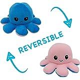 Peluche de Pulpo Reversible-Bonitos Juguetes de Peluche, muñeco de peluche juguetes creativos el Pulpo Reversible Original de