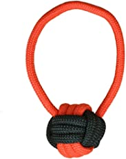 Pet Wholesale Chewing Tug of War Rope Ball Toy with Tug for Medium Dogs_Color May Vary